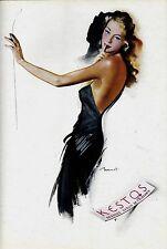 Original vintage ad print KESTOS FRENCH LINGERIE c.1945