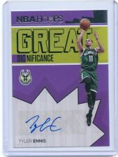 16/17 PANINI HOOPS GREAT SIGNIFICANCE AUTOGRAPH AUTO TYLER ENNIS BUCKS *53182