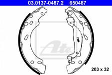 Bremsbackensatz für Bremsanlage Hinterachse ATE 03.0137-0487.2