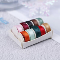 1:12 Dollhouse mini thread box simulation sewing thread model toys for dollho Gy