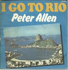 A4 / 45 TOURS  2 TITRES / PETER  ALLEN  I  GO TO  RIO