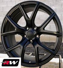 "20"" inch RW Wheels for Jeep Grand Cherokee 20x10"" Satin Black SRT Night Rims"
