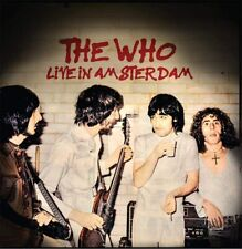THE WHO 'LIVE IN AMSTERDAM' 2 CD Set (26th June 2020)