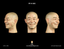 FacepoolFigure 1/6 Asian Male Head Sculpt with Expression FP-H-005