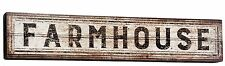 "Farmhouse Decor Distressed Brown Wood Box Sign Large 30"" Primitives By Kathy NEW"