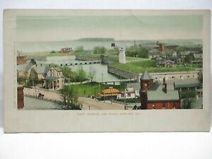 """1902 DETROIT CO #6249 POSTCARD  """" FORT MONROE, OLD POINT COMFORT VA """" UNUSED"""