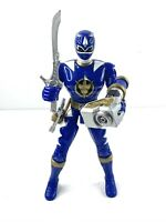 "2003 Bandai Power Rangers Dino Thunder Blue Talking Ranger 5.5"" Action Figure"