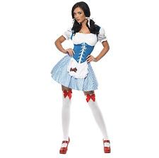 Smiffys KANSAS CUTTIE Sexy Dorothy Fancy Dress Costume Outfit MEDIUM (UK12-14)