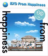 [EXO] From Happiness DVD Limited Edition Sealed New DVD 2+Booklet SM 엑소