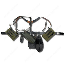 GERMAN ARMY P38/P40 CANVAS BAG EQUIPMENT COMBINATION SOLIDER BELT AND Y STRAPS