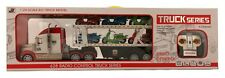 Remote Control Transport Truck and Trailer 4 Channel RC 1:24 Scale Model