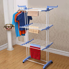 3 Tier Clothes Airer Rack Indoor Outdoor Laundry Dryer Foldable Dry Rail Hanger