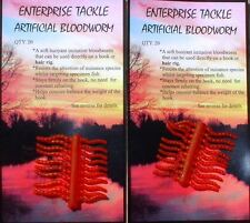 Enterprise Bloodworm/Zuckmücken Imitate toll gemacht, Floating, Schwimmend