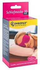 1 X Ohropax antifaz para dormir 3D fucsia