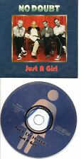 NO DOUBT GWEN STEFANI JUST A GIRL RARE FRENCH CDS IN CARD PS