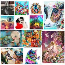 5D Diy Diamond Painting Art Animal Cross Stitch Kit Home Decor Embroidery