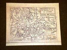 Mappa Svizzera Theatrum Orbis Terrarum 1724 Abraham Ortelius Ortelio Ristampa