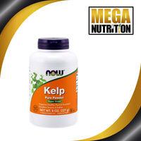 NOW Food Kelp Powder 227g   Support Thyroid Function Hair Skin Nails Super Green