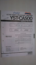 Yamaha yst-ca500 service manual original repair book stereo car radio amp