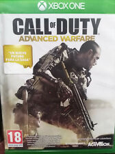 CALL OF DUTY ADVANCED WARFARE. JUEGO PARA XBOX ONE. PAL-ESP. NUEVO, PRECINTADO.