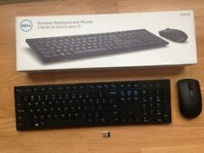 Dell Km636 Wireless Keyboard and Mouse Combo Black
