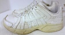 2011 Nike Youth Sneaker Running Shoes, #386630-102, White, Leather, US7Y Eur40