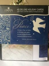 Carlton Cards 40 Deluxe Holiday Cards (Christmas Cards)
