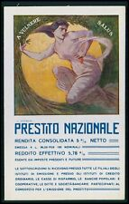 d art Petroni Political patriotic fund loan rising WWI ww1 war c1915 postcard
