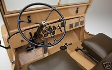1945 Willys JEEP CJ2A, Refrigerator Magnet, INTERIOR DASHBOARD, 40 MIL THICK