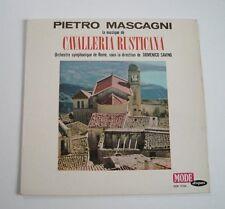 """Pietro MASCAGNI """"Cavalleria rusticana"""" (Vinyle 33t / LP)"""