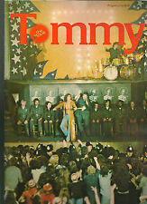 The Who Tommy movie program 1975 original CLASSIC rock opera