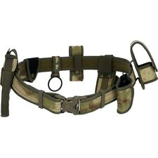 Tactical Camo Utility Belt w/ Holsters, Army Gun Mag Radio Hunt Range SWAT Gear