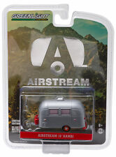Greenlight Airstream 16 Bambi Sport Trailer 1:64 Silver with Red Wheels 29857