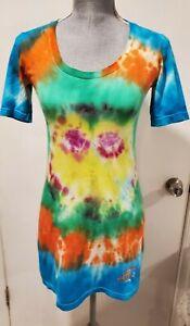 American Apparel Classic Girl Size XS Tie Dye Shirt Dress