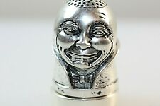 More details for humpty dumpty nursery rhyme silver thimble pin cushion