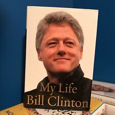 President Bill Clinton signed book plate in book - My Life autograph authentic