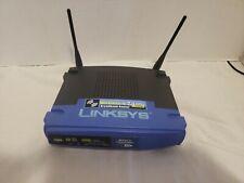 Linksys Cisco WRT54G v.5 4-Port Wireless-G Broadband Router