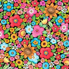 Mottos to Live By Floral - Mary Engelbreit - 1 Yard - By the Yard