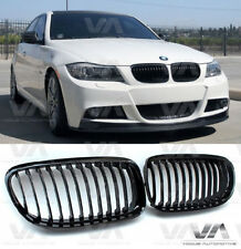 VA BMW 3 SERIES E90 E91 LCI GLOSS BLACK KIDNEY GRILL GRILLE