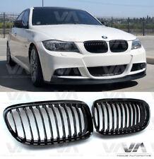 BMW 3 SERIES E90 E91 LCI GLOSS BLACK KIDNEY GRILL GRILLE