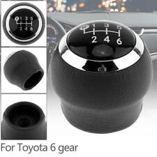 6Speed Gear Stick Shift Knob For Toyota Corolla Verso Auris Yaris RAV4 2007-2013