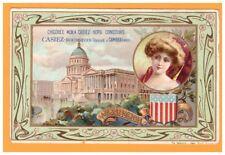 Publicité CHICOREE / MOKA-CASIEZ à Cambrai / illustée CAPITOLE de WASHINGTON
