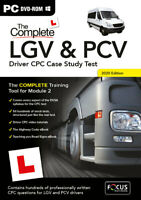 The Complete LGV and PCV Driver CPC Case Study Test PC Retail PC DVD Rom 2020