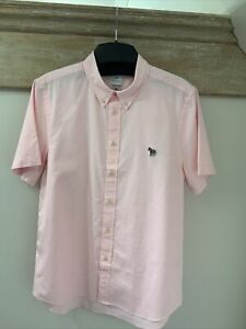 Paul Smith Tailored Fit Zebra Shirt, Size Large, RRP £119
