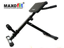 MAXOfit® Rückentrainer MF-12 Bauchtrainer klappbar m. gepolsterter Beinfixierung