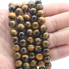 Wholesale Lot Yellow Tiger Eye Round Spacer Loose Beads 8MM 15'' New