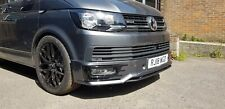 VW T6 Front Bumper Spoiler INCLUDING PAINT & FITTING- Sportline Style Plastic