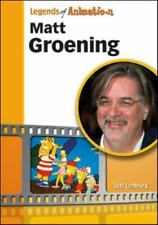 Matt Groening: From Spitballs to Springfield (Legends of Animation) by Jeff Len