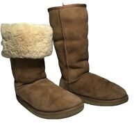UGG Australia Women's Classic Tall Chestnut 5815 Suede Boots Size W7