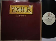 Country Lp Exile All There Is On Wb